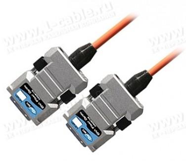 Фото1 CAB-DVIFO-..0MM Цифровой оптический кабель DVI-D, серия FO, с встроенным преобразователем сигналов,
