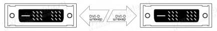 Фото2 CAB-DVIFO-..0MM Цифровой оптический кабель DVI-D, серия FO, с встроенным преобразователем сигналов,