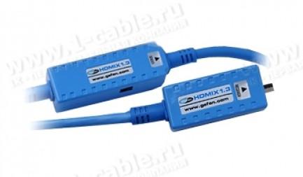 Фото1 CAB-HDMIX1.3-..0MM Цифровой оптический кабель HDMI, серия Extreme FO, с встроенным преобразователем