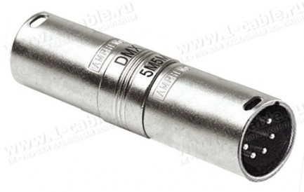 Фото1 AC5M5MW - Адаптер XLR 5 штекер - XLR 5 штекер