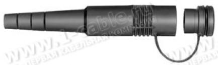 Фото1 FGA.085.145.EN - Колпачок защитный для установки на кабельные штекеры, с крышкой, полностью закрывае