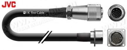 Фото1 CAM-J26CW-0.. Кабель камерный JVC, 26 пин, инсталляционный CCU > WallBox, кабельный штекер > панельн