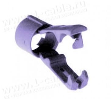 """Фото1 AC-CLAMP-PRL - Зажим кабельный """"крокодил"""", для разъемов XLR серии AC"""