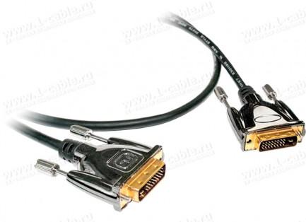 Фото1 DVISL5-MMS-0. Цифровой компактный кабель DVI-D, Single Link, серия SL5, штекер-штекер