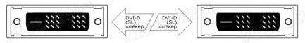 Фото2 DVISL5-MMS-0. Цифровой компактный кабель DVI-D, Single Link, серия SL5, штекер-штекер