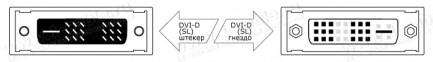 Фото2 DVIXL-MFS-.. Цифровой кабель DVI-D, серия XL, Single Link, для удаленных источников, штекер-гнездо