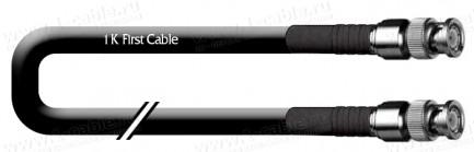 Фото1 1K-VXL12-.. Кабель коаксиальный 50 Ом, на основе LMR400-UF, эластичный, BNC штекер > BNC штекер