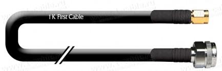 Фото1 1K-VXL33-.. Кабель коаксиальный переходной 50 Ом, на основе LMR-400, N штекер > SMA штекер