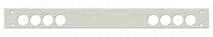 Фото1 1U-PROFIT-.D.. Передняя панель 1U для установки в рэковый корпус серий ECONOMY V, BASIS V, PROFI V,