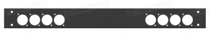 Фото2 1U-PROFIT-.D.. Передняя панель 1U для установки в рэковый корпус серий ECONOMY V, BASIS V, PROFI V,