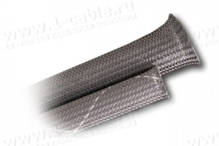 Фото2 CCFR1/.. Эластичная кабельная огнеупорная оплетка для быстрых инсталляций (ПЭТ тройное плетение)- 0.