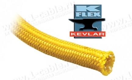 """Фото1 KVN1..YL Особопрочная мягкая оплетка """"Кевлар"""" (высокая степень механической и температурной защиты)"""