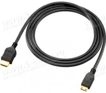 Фото2 HDMI-AmC-MM-0. Переходной кабель HDMI, серия Standard, mini штекер (тип C) > штекер (тип A)