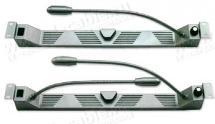 Фото1 GLD.-19-00. Лампа на гусиной шее для подсветки рэка, источник света- светодиоды (LED)