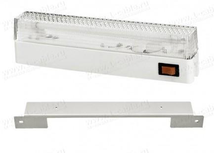 """Фото1 LL11-19-001 Люминесцентная лампа для подсветки рэка в комплекте с кронштейном 19"""""""
