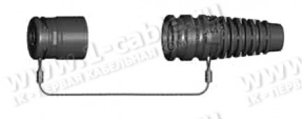 Фото2 1051.1576.. Колпачок защитный для контактной группы разъема SE, DS, DSR нового дизайна (серия 1051 А