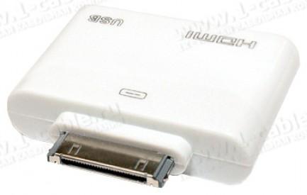 Фото2 MC302HD - MC302HD - Apple Digital Аудио-Видео адаптер с подзарядкой и синхронизацией для iPad, iPhon