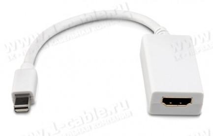 Фото1 MDP2HDMIF - Адаптер видеосигналов Mini DisplayPort на HDMI (гнездо)