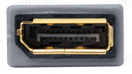 Фото4 ADA-DP-MATE - Адаптер видеосигналов DisplayPort (гнездо) на DisplayPort (гнездо)