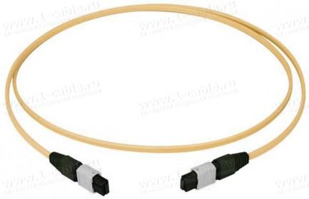 Фото1 L0083.A00.. Патч-кабель оптический многоканальный, разъемы: MPO PC гнездо > MPO PC гнездо