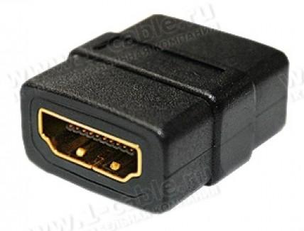 Фото1 HDMIR-FF - Повторитель для кабелей HDMI, гнездо > гнездо