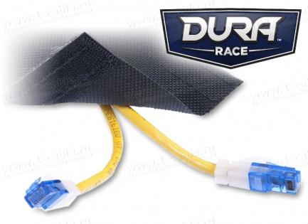 Фото5 DRN..00BK Защитный эластичный кабельный трап для коврового покрытия на липучке