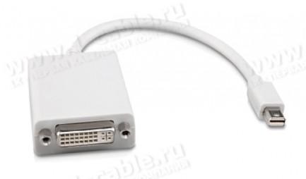 Фото1 MDP2DVIF - Адаптер видеосигналов Mini DisplayPort на DVI-D (гнездо)