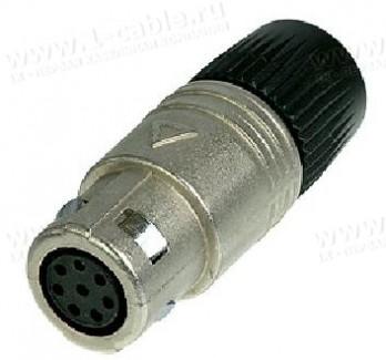 Фото2 OSC8F.. Разъем многоконтактный кабельный, серия neutriCON, гнездо