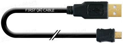 Фото1 1K-USB-AmicB-0. Кабель USB 2.0 для соединения ПК с мобильными устройствами, штекер (тип A) - штекер