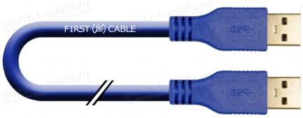 Фото1 1K-USB305-AA-0. Кабель USB 3.0 для передачи данных, штекер (тип A) -штекер (тип A)