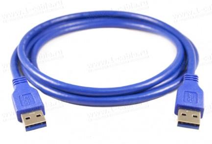 Фото2 1K-USB305-AA-0. Кабель USB 3.0 для передачи данных, штекер (тип A) -штекер (тип A)