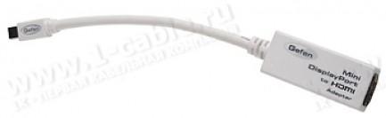 Фото1 ADA-MDP-2-HDMIFN - Адаптер видеосигналов Mini DisplayPort на HDMI (гнездо)