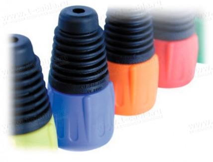 Фото1 BSX-.-.. Колпачок цветной для разъемов серии EtherCON