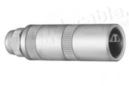 Фото1 PCA.0S.650.CTLC32 - Разъём триаксиальный кабельный 50 Ом, штекер, серия S