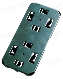 Фото1 H02050A0106 Монтажный комплект для установки боксов серии MICRO Splice Box в кабель-каналы