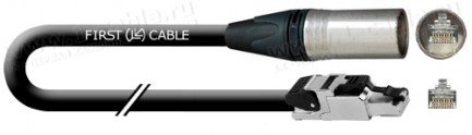 Фото1 1K-XRC6ASF-XLR-1.. Кабель коммутационный, Standart-Patch, повышенная надежность, Mobile Ethernet, ка