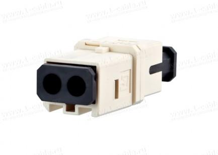 Фото1 1402..0820MI Оптический модульный адаптер, индустриальный, серия Industry OpDAT, для панельных корпу