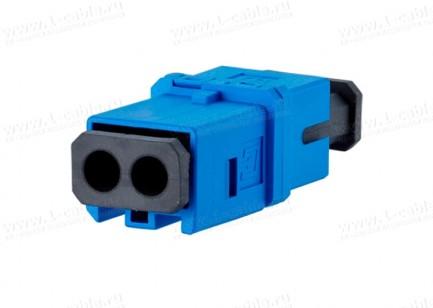 Фото2 1402..0820MI Оптический модульный адаптер, индустриальный, серия Industry OpDAT, для панельных корпу