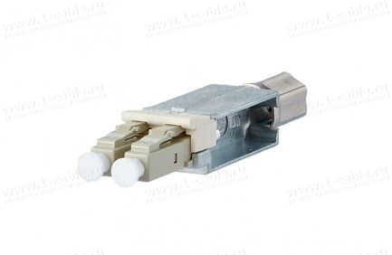 Фото1 1402.00820-I Оптический модульный разъем, штекер, индустриальный, серия Industry OpDAT, для кабельны