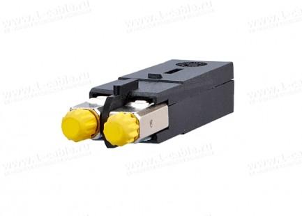 Фото3 1402.00822-I Оптический модульный разъем, штекер, индустриальный, серия Industry OpDAT, для кабельны