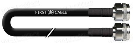 Фото1 1K-VT58-.. Кабель коаксиальный 50 Ом, на основе кабеля RG-214, N штекер > N штекер