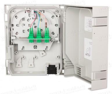 Фото1 1503597606-E Распределительный модуль, сплайс-кассета, пластиковый корпус