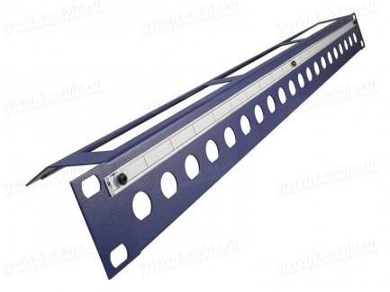 """Фото1 .U-BNC.. 19"""" рэковая панель с пробивкой под BNC разъемы, серия PRO"""