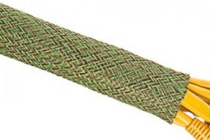 Фото6 PTM0.38.. Круглая Кабельная Оплетка PET ReMix- 0.95 см, диапазон растяжки 6.35-11.11 мм