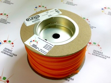 Фото9 PTN0.25.. Круглая Кабельная Оплетка PET- 0.63 см, диапазон растяжки 3.2-10.9 мм