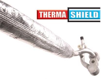 Фото1 TCN...SV Круглая Полужёсткая Термозащитная Отражающая аллюминиезированная Оплётка (толстостенное сте