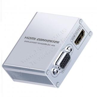 Фото2 LKV178 - Преобразователь цифрового сигнала Mini DisplayPort / ThunderBolt в сигналы HDMI, DVI, VGA