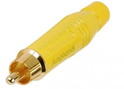 Фото5 ACPR-.. Разъем RCA кабельный, штекер, пайка, на кабель диам. 3.0- 6.5 мм