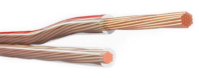 картинка акустического спикерного кабеля